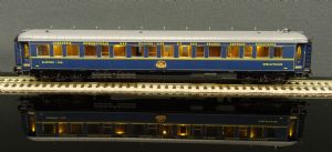 HJ4129 CIWL, sleeping car type Lx in blue livery